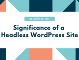 Benefiting Through the Popular Headless WordPress aka Decoupled CMS