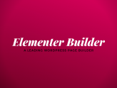 Elementor 2.6 - The Best Page Builder Plugin For WordPress Site