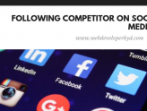Competitor on social media image